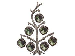 Фоторамка-дерево 363-031 18*6.5*23 см на 7 фото 4*4 см