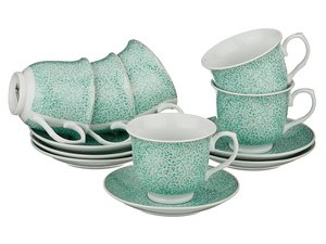 Чайный набор 389-316 на 6 персон 12 пр. 200 мл