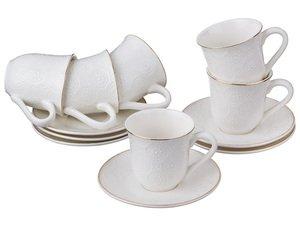 Кофейный набор 389-425 на 6 персон 12пр. 100мл