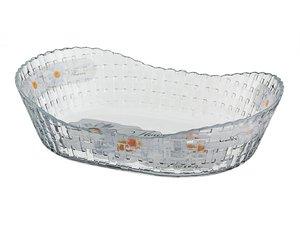 Блюдо для слоеных салатов 484-166