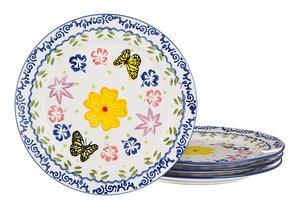 Набор тарелок 536-038 из 4 шт. диаметр 20 см.