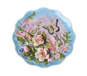 Тарелка 59-562 декоративная настенная 20*20*2 см