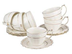 Чайный набор 590-114 на 6 персон 12 пр. 200 мл