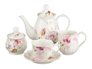 Чайный сервиз 590-192 на 6 персон 15 пр. 1000, 200, 300, 300 мл