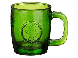 Кружка 600-709 объем 360 мл, 10 см зеленая