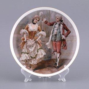 Тарелка 606-762 декоративная 20 см