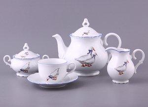 Чайный сервиз 655-031 на 6 персон 15 пр.