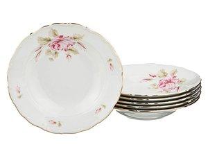 Набор суповых тарелок 655-604 из 6 шт