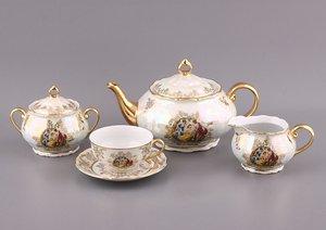 Чайный сервиз 662-558 на 6 персон 15 пр.