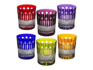 Набор стаканов 673-018 для виски из 6 шт 280 мл