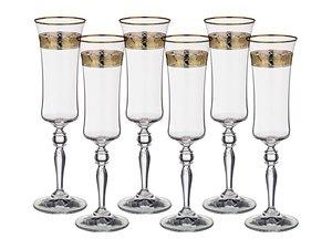 Набор бокалов 674-301 для шампанского из 6 шт