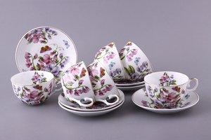 Чайный набор 69-1767 на 6 персон 12 пр. 250 мл
