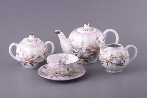 Чайный сервиз 69-1789 на 6 персон 15 пр. 850/200 мл