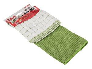 Комплект тряпок для уборки 705-062, 2 шт, микрофибра