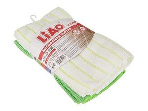 Комплект тряпок для уборки 705-066, 4 шт, микрофибра, 41*48 см