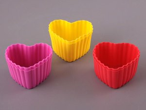 Набор форм 710-114 силиконовых для выпечки 6шт 6 см
