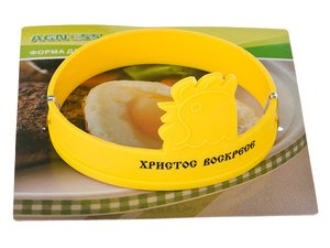 Силиконовая форма 710-233 для жарки яиц, диаметр 10 см