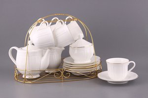 Чайный сервиз 722-002 на 6 персон 15 пр.