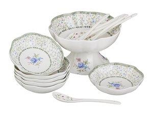 Набор для варенья 760-039 : креманка, 6 розеток и 6 ложек