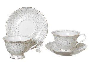 Чайный набор 760-178 на 2 персоны 4 предмета 250 мл