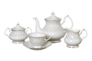 Чайный сервиз 760-180 на 6 персон 15 пр. 200 мл.