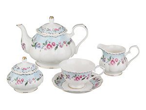 Чайный сервиз 760-276 на 6 персон, 15 предметов 1250/250 мл