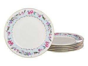 Набор десертных тарелок 760-282 из 6 шт, 19 см