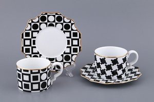 Чайный набор 761-043 на 2 персоны 4 пр. 150 мл.