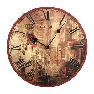 Часы настенные 799-003, диаметр 35 см