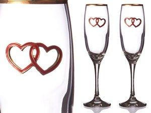 Набор бокалов для шампанского 802-510068 из 2 шт. 170 мл.
