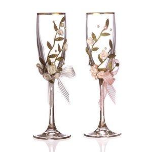 Набор бокалов для шампанского 802-510082 из 2 шт. 170 мл.