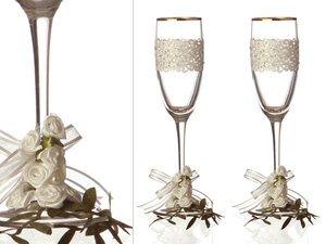 Набор бокалов для шампанского 802-510083 из 2 шт. 170 мл.