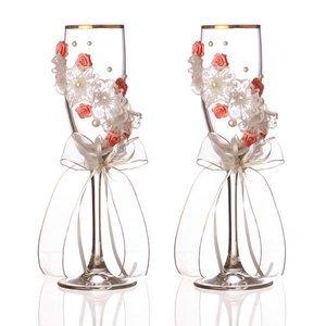 Набор бокалов для шампанского 802-510105 из 2 шт. 170 мл.