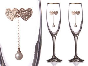 Набор бокалов для шампанского 802-510117 из 2 шт. 170 мл.