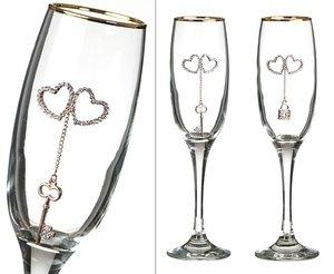 Набор бокалов для шампанского 802-510130 из 2 шт. 170 мл.