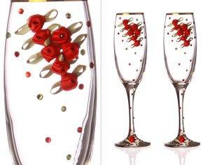 Набор бокалов для шампанского 802-510152 из 2 шт 170 мл.