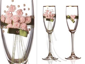 Набор бокалов для шампанского 802-510156 из 2 шт. 170 мл.
