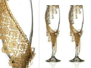 Набор бокалов для шампанского 802-510204 из 2 шт. 170 мл