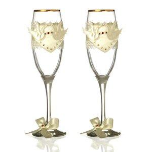Набор бокалов для шампанского 802-510206 из 2 шт. 170 мл.