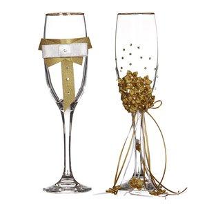Набор бокалов для шампанского 802-510212 из 2 шт. 170 мл.