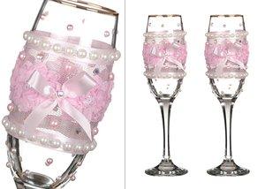 Набор бокалов для шампанского 802-510218 из 2 шт. 170 мл.