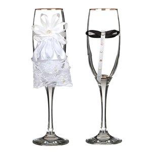 Набор бокалов для шампанского 802-510220 из 2 шт. 170 мл.
