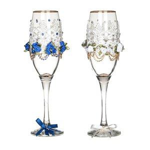 Набор бокалов для шампанского 802-510226 из 2 шт. 170 мл.