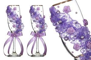 Набор бокалов для шампанского 802-510228 из 2 шт 170 мл