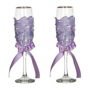 Набор бокалов 802-510232 из 2шт для шампанского