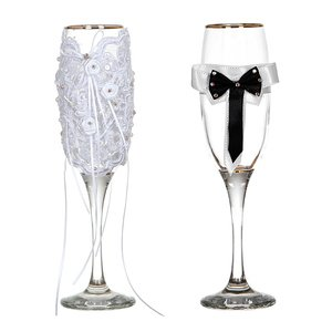 Набор бокалов 802-510242 из 2шт для шампанского