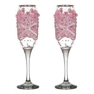 Набор бокалов для шампанского 802-510245 из 2 шт. 170 мл