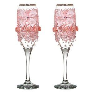 Набор бокалов для шампанского 802-510248 из 2 шт. 170 мл
