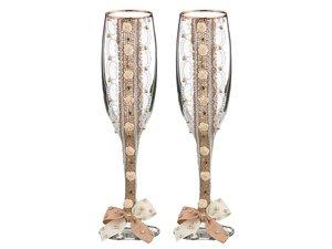 Набор бокалов для шампанского 802-510276 из 2 шт.  170 мл