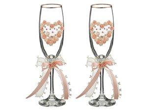 Набор бокалов для шампанского 802-510277 из 2шт  170 мл